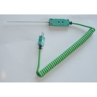 Thin Meat Probe, Type K, -75 to +250°C