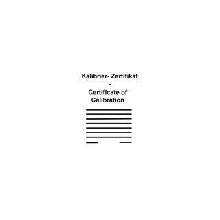 Calibration Certificate for PicoScope 4444