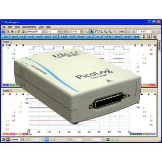 PicoLog 1012 Kit, 12-Channel, 10 Bits USB Data Logger with Terminal Board