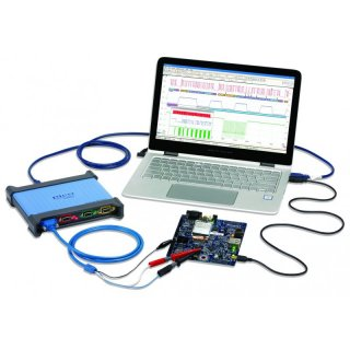 PicoScope 4444, 4-Channel Differential Oscilloscope, Kit for Extra Low Voltage Measurements