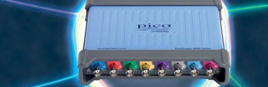 8-Kanal- USB- Oszilloskop